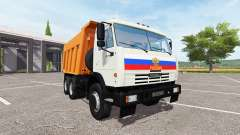 KAMAZ-65115 v3.0 for Farming Simulator 2017
