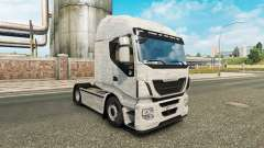 Brushed Aluminum skin for Iveco truck for Euro Truck Simulator 2
