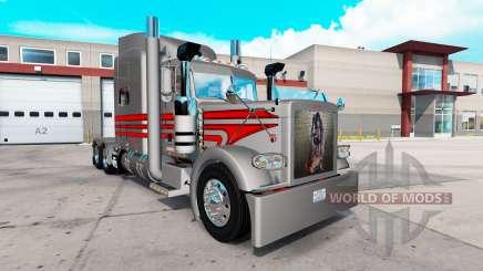 Rocker skin for the truck Peterbilt 389 for American Truck Simulator