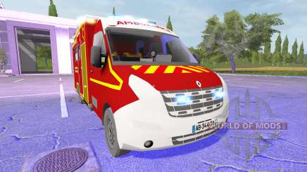 Renault Master Ambulance for Farming Simulator 2017