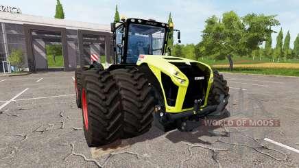 CLAAS Xerion 4000 for Farming Simulator 2017