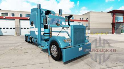 Blue Ice skin for the truck Peterbilt 389 for American Truck Simulator