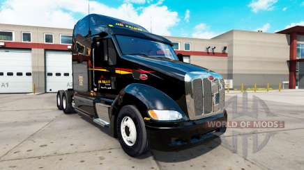 Skins on the tractor Peterbilt 387 for American Truck Simulator