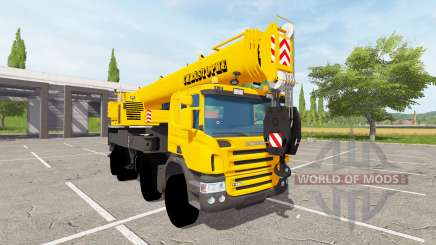 Scania P420 Liebherr LTF 1060 for Farming Simulator 2017