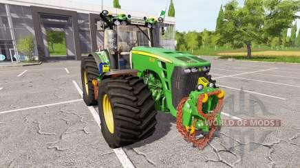 John Deere 8530 v2.3 for Farming Simulator 2017