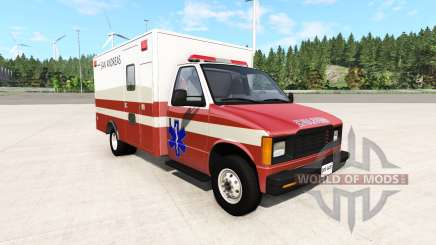 Gavril H-Series San Andreas Ambulance v0.1 for BeamNG Drive