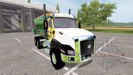 Caterpillar CT660 spreader for Farming Simulator 2017