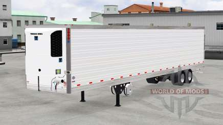 Refrigerated semi-trailer Thermo King for American Truck Simulator