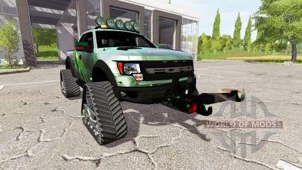 Ford F-150 SVT Raptor crawler for Farming Simulator 2017
