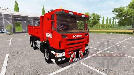Scania P420 for Farming Simulator 2017
