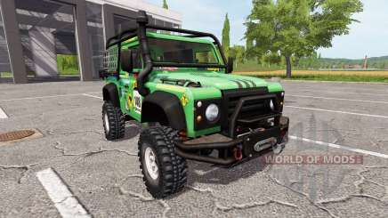 Land Rover Defender 90 Dakar v2.0 for Farming Simulator 2017