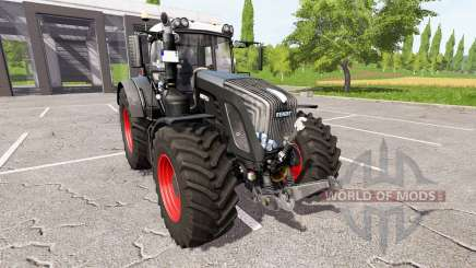Fendt 924 Vario black beauty v1.1.1.1 for Farming Simulator 2017