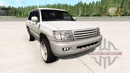 Toyota Land Cruiser 100 v0.5.4 for BeamNG Drive