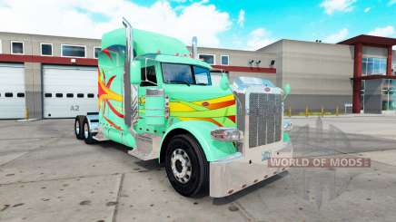 Hoffman skin for the truck Peterbilt 389 for American Truck Simulator