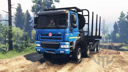 Tatra Phoenix T 158 8x8 v2.0 for Spin Tires