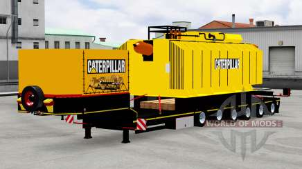 Low sweep with transformer Caterpillar for American Truck Simulator