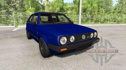 Volkswagen Golf Mk2 GTI 1987 update for BeamNG Drive