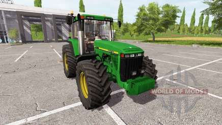 John Deere 8410 for Farming Simulator 2017