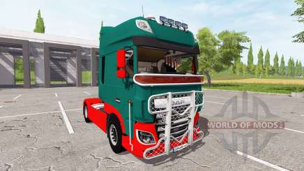 DAF XF for Farming Simulator 2017