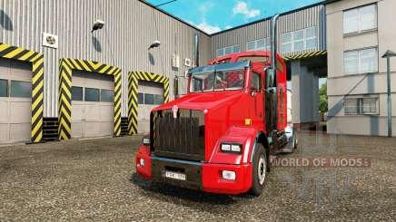 Kenworth T800 v1.02 for Euro Truck Simulator 2