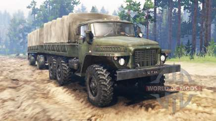 Ural-375Д for Spin Tires