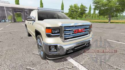 GMC Sierra 1500 v1.1 for Farming Simulator 2017