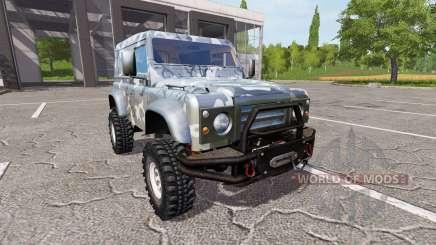 Land Rover Defender 90 for Farming Simulator 2017