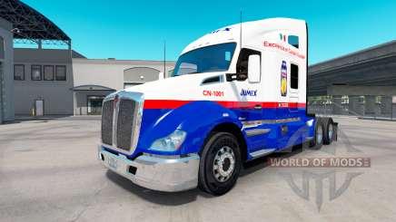 Skin Jumex on tractor Kenworth T680 for American Truck Simulator