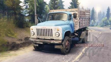 GAZ-53 for Spin Tires