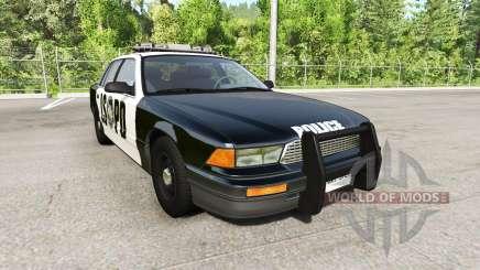 Gavril Grand Marshall San Andreas Police for BeamNG Drive