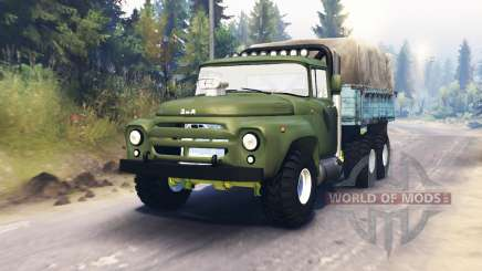 ZIL-130 6x6 for Spin Tires