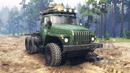 Ural-4320 tractor v2.0 for Spin Tires