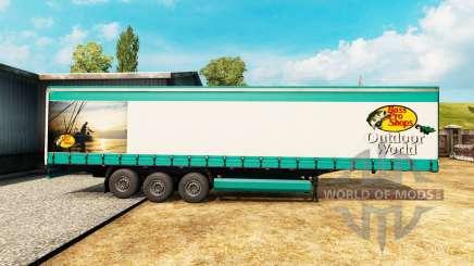 Skin Bass Pro Shops for a semi-trailer for Euro Truck Simulator 2