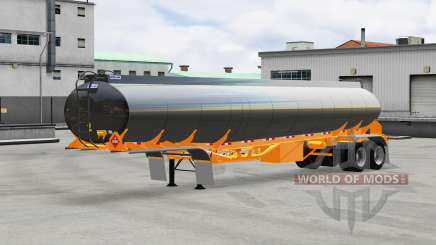 Fuel semi-trailer Polar for American Truck Simulator