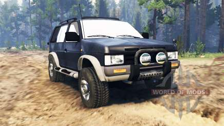 Nissan Terrano for Spin Tires