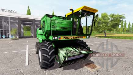 Rostselmash don-1500B for Farming Simulator 2017