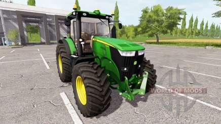 John Deere 7280R v1.1.0.1 for Farming Simulator 2017