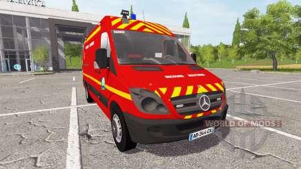 Mercedes-Benz Sprinter VSR v2.0 for Farming Simulator 2017
