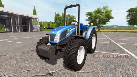 New Holland T4.75 v1.2 for Farming Simulator 2017