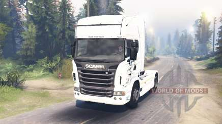 Scania R730 2009 4x4 for Spin Tires