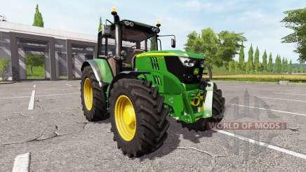 John Deere 6155M v2.0 for Farming Simulator 2017