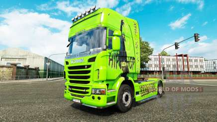 Skin Hip-Hop on the tractor Scania for Euro Truck Simulator 2