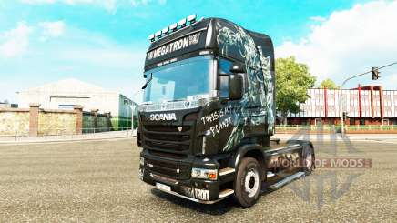 Megatron skin for Scania truck for Euro Truck Simulator 2