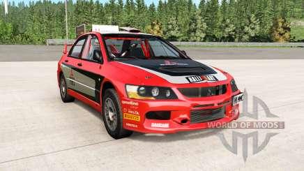 Mitsubishi Lancer Evolution IX 2006 remaster for BeamNG Drive