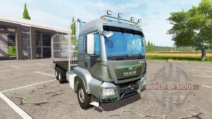 MAN TGS 18.440 bale for Farming Simulator 2017