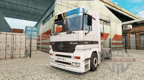 Mercedes-Benz Actros 1843 MP1 for Euro Truck Simulator 2