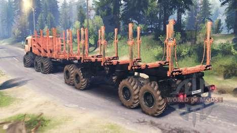 KamAZ-43114 v2.0 for Spin Tires