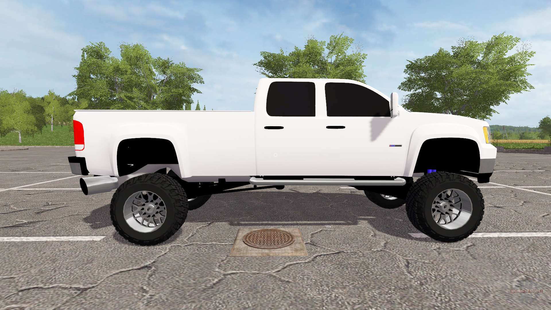 gmc sierra 2500 2012 for farming simulator 2017. Black Bedroom Furniture Sets. Home Design Ideas