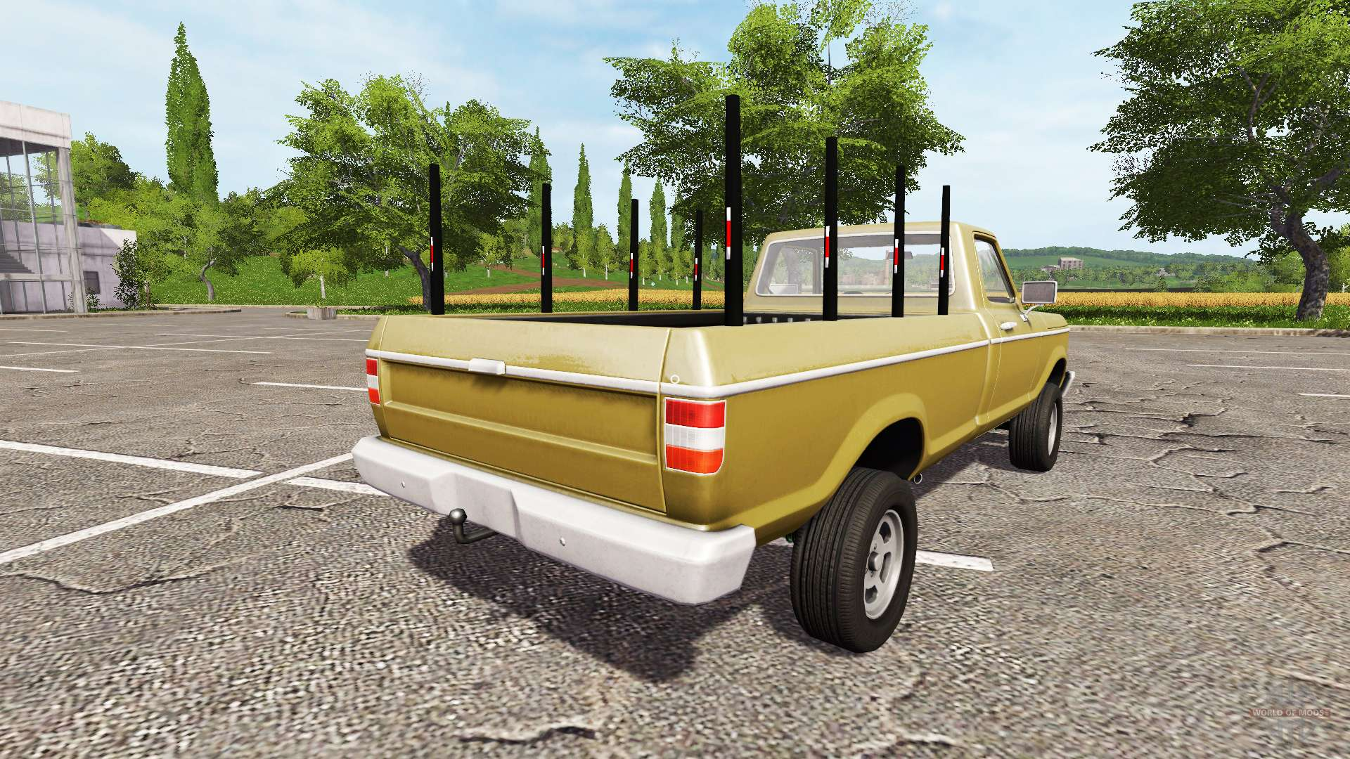 Scrap Metal Pick Up >> Lizard Pickup Rodeo 100 logging for Farming Simulator 2017