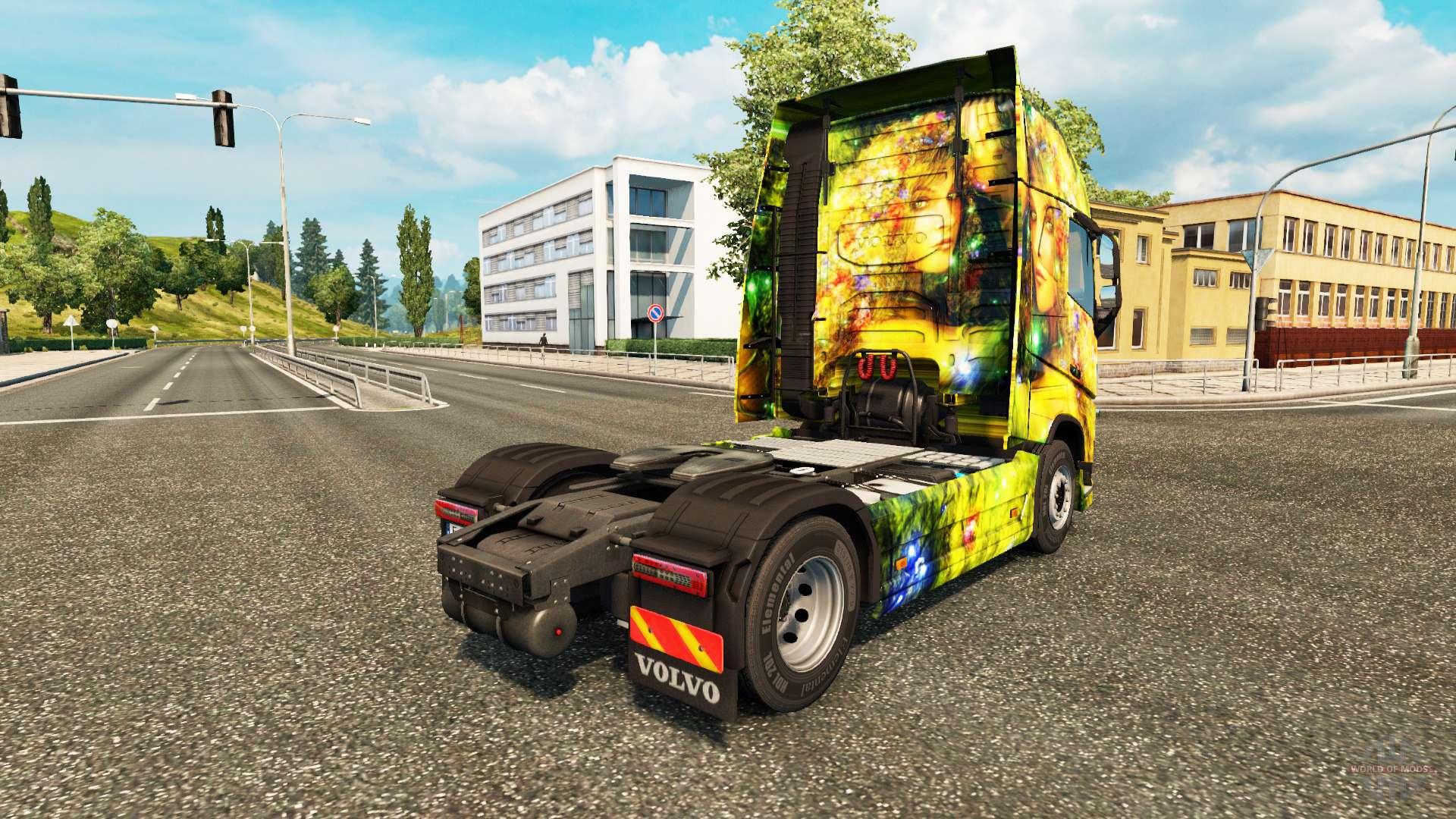 volvo girl truck simulator